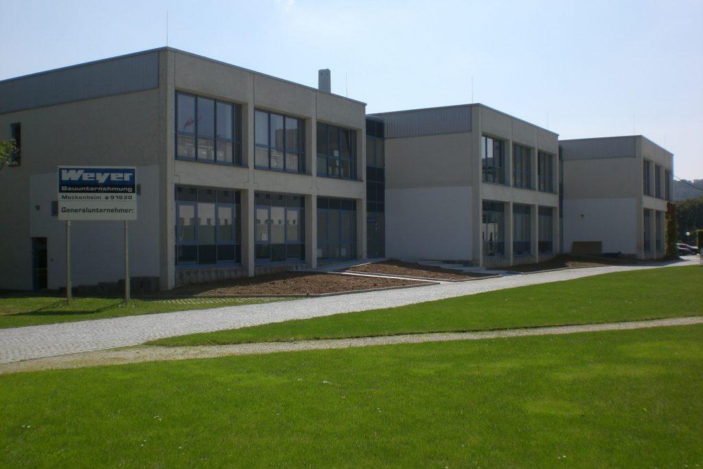 Neubau Verwaltungspavillon, II. BA der Kunst- und Ausstellungshalle